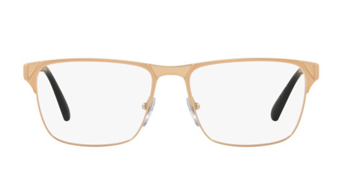 ブルガリ メガネ メンズ 品番BV1104K-2006 カラーMATTE PINK GOLD PLATED メタル レクタングル 新作 2019 BVLGARI 18Kフレーム 取扱店 ブランド雑貨 人気 誕生日ギフト 伊達めがね 老眼鏡 海外通販ミラノ