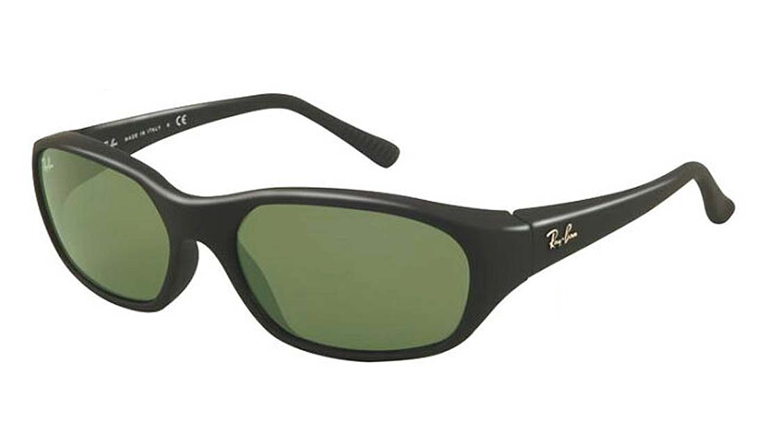 【新品】レイバン サングラス メンズ フリーサイズ DADDY-O ブラック×グリーン×レンズ UVカット RayBan 送料無料 誕生日 ギフト おしゃれ ブランド ミラノ クリエンテ RB2016-W2578