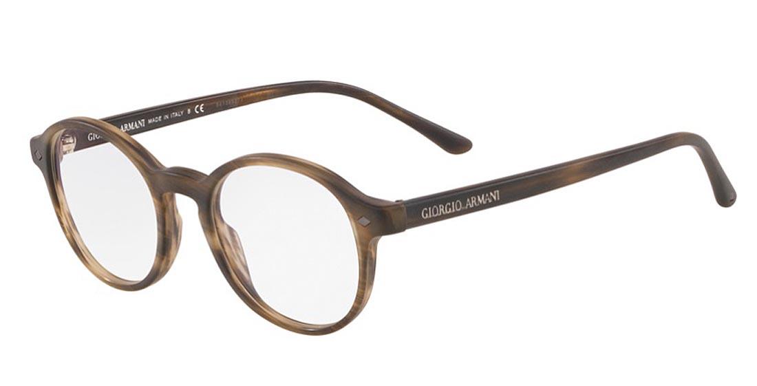 【新作】ジョルジオ アルマーニ メガネフレーム メンズ スタンダード フィット マット×ブラウン 送料無料 GIORGIO ARMANI 誕生日 ギフト おしゃれ ブランド ミラノ クリエンテ AR7004-5405
