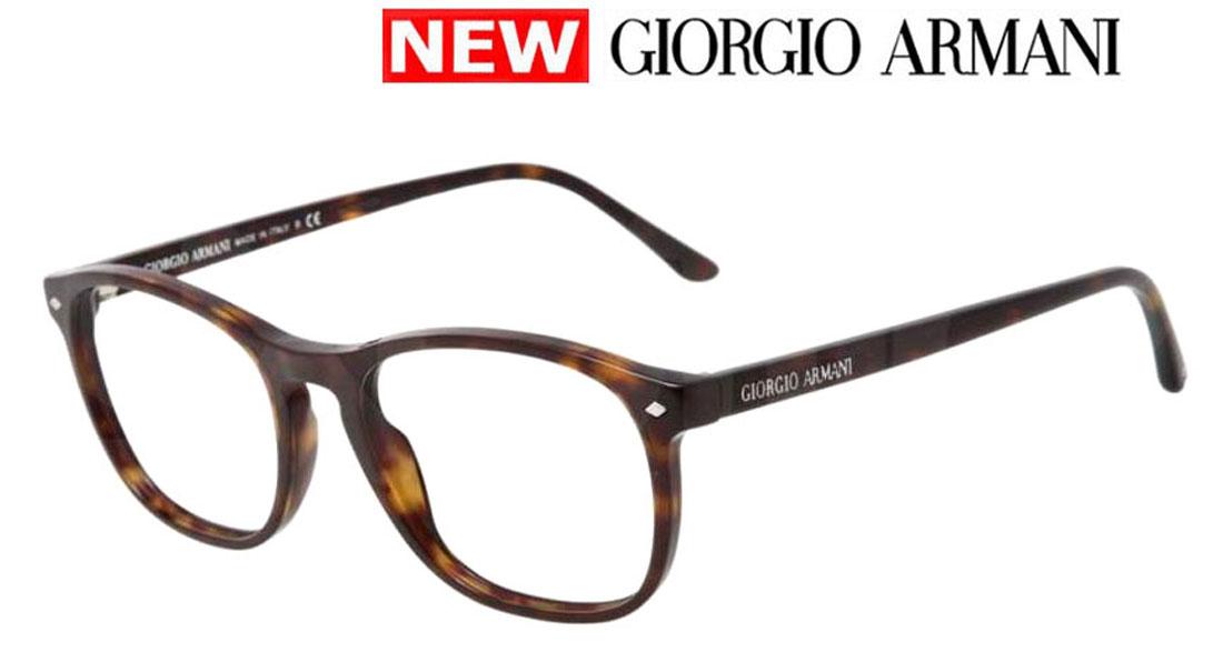 【新品】ジョルジオ アルマーニ メガネフレーム メンズ スタンダード フィット ブラウン×ハバナ 送料無料 誕生日 ギフト おしゃれ ブランド ミラノ クリエンテ AR7003-5026