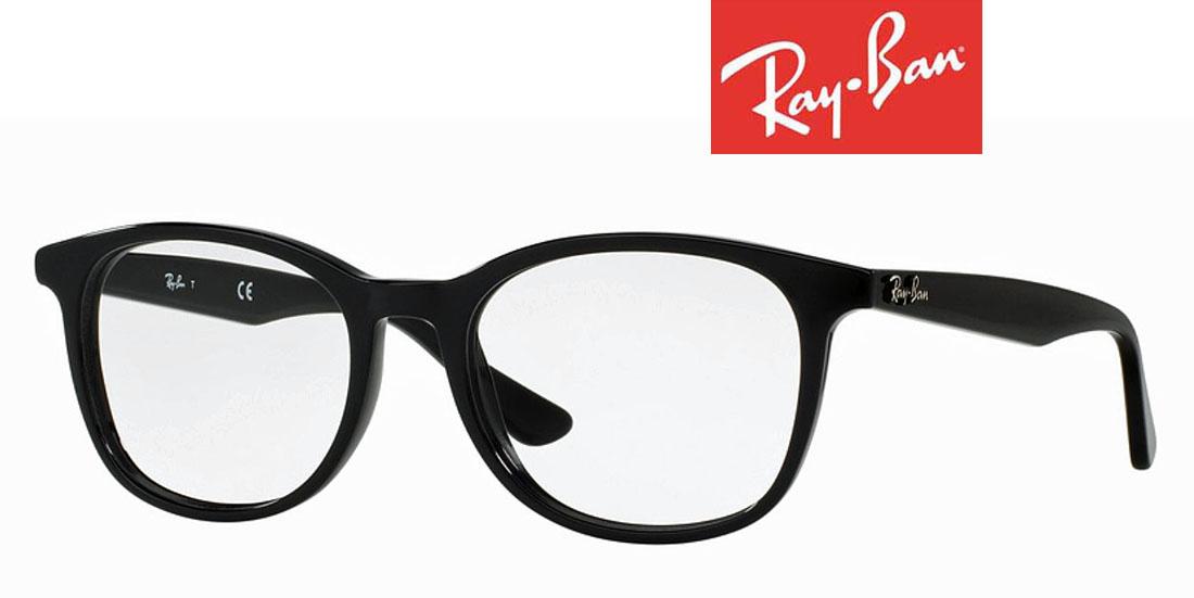 レイバン メガネ フレーム メンズ/レディース ブラック スクエア 人気 誕生日ギフト 度入り 新作 2018 かわいいRB 伊達めがね 老眼鏡 セル/メタル 高品質イタリア製 海外通販 ミラノ 送料無料
