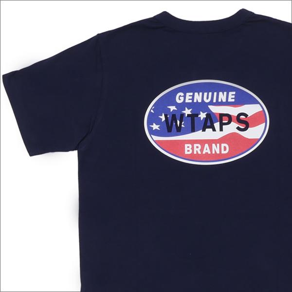 ロンハーマン Ron Herman x ダブルタップス WTAPS DESIGN SS 08 TEE Tシャツ NAVY 200007122037+【新品】 半袖Tシャツ