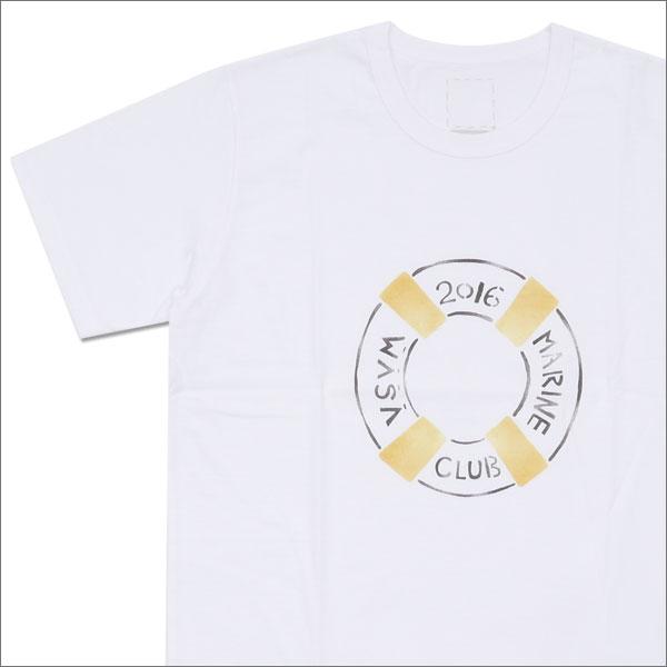 visvim ヴィズビム Zushi Marina 1st Anniversary Exclusive MARINE CLUB TEE S S Tシャツ YELLOW 200007123528x【新品】 半袖Tシャツ