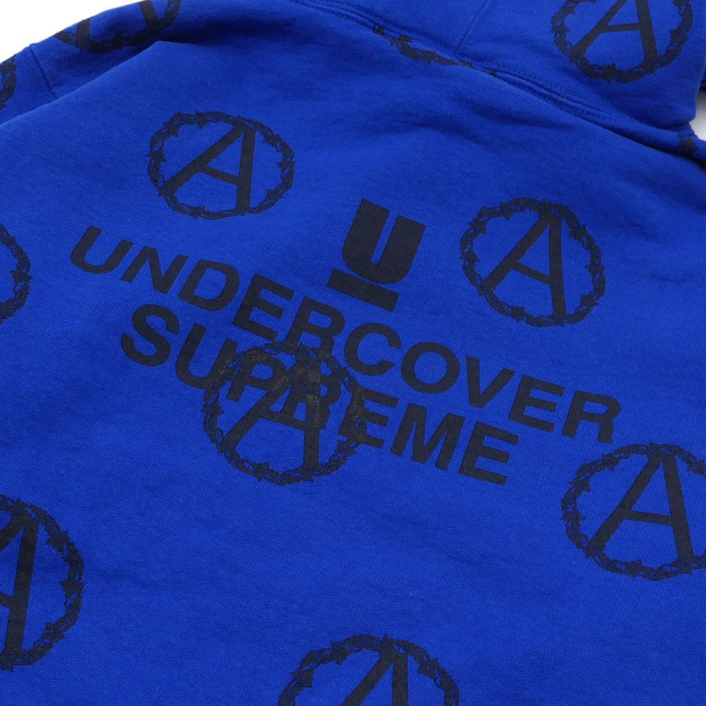 シュプリーム SUPREME  x UNDERCOVER アンダーカバー  Anarchy Hooded Sweatshirt  スウェットパーカー  ROYAL 209000455044+【新品】  SWT HOODY