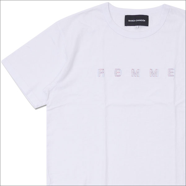 Bianca Chandon ビアンカシャンドン HOMME FEMME TSHIRT Tシャツ WHITE 420000046040x【新品】 半袖Tシャツ
