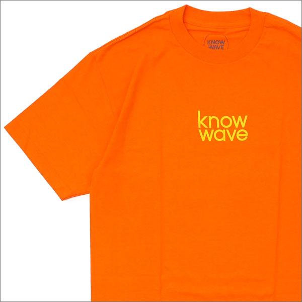 Know Wave ノーウェーブ Balanced Tee Tシャツ ORANGE 200007521048+【新品】 半袖Tシャツ