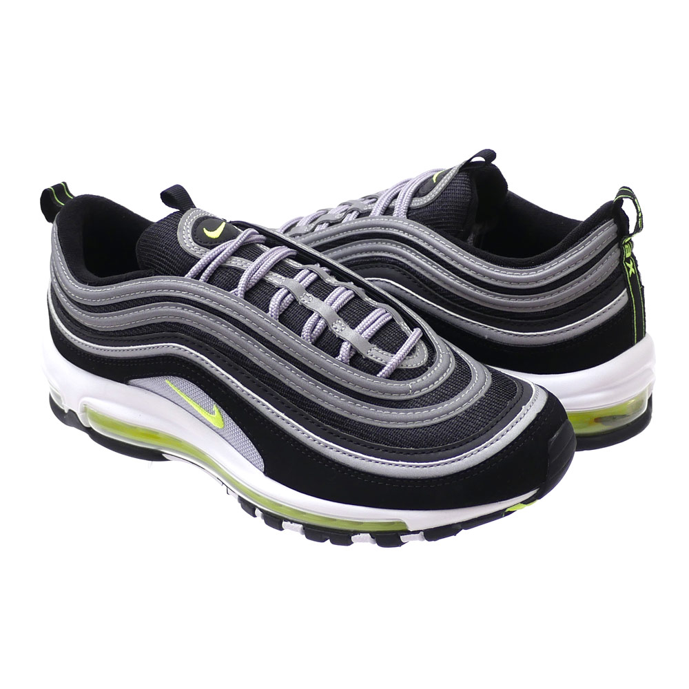 It is BLACK/VOLT-METALLIC SILVER 921,826-004 291-002300-271 (sneakers) (shoes) NIKE (Nike) AIR MAX 97 (Air Max)