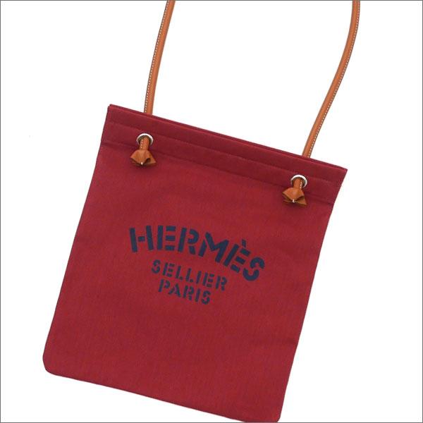 HERMES エルメス ALINE TOILE CHEVRON ショルダーバッグ ROUGExGOLD 277002462013+【新品】 グッズ