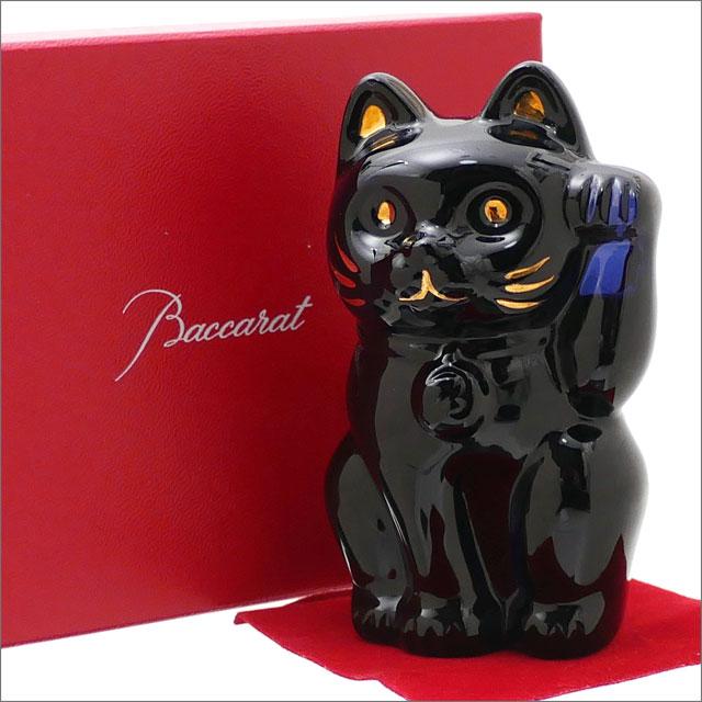 Baccarat バカラ CRYSTAL 招き猫 NAVY 290001371011x【新品】 グッズ