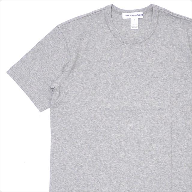 COMME des GARCONS SHIRT コムデギャルソン シャツ Plain Crew Neck Tee Tシャツ GRAY 200007698052x【新品】 半袖Tシャツ