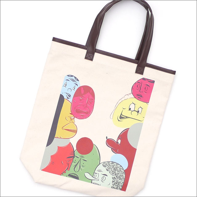 COMME des GARCONS HOMME DEUX コムデギャルソン オムドゥー x Barry McGee FACE TOTE BAG KNR 277002474010x【新品】 グッズ
