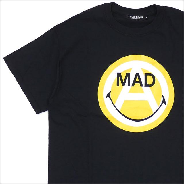 UNDERCOVER アンダーカバー x VERDY ヴェルディ MAD SMILE CIRCLE A TEE Tシャツ BLACK 417000039041+【新品】 半袖Tシャツ