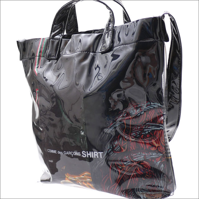 COMME des GARCONS SHIRT コムデギャルソン シャツ PVC SHOULDER BAG ショルダーバッグ BLACK 277002521011x【新品】 グッズ