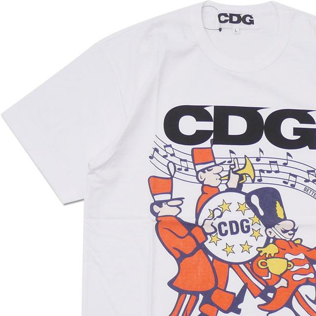 CDG(シーディージー) BETTER GIFT SHOP BY AVI GOLD T-SHIRT (Tシャツ) WHITE 200-007917-050【新品】 COMME des GARCONS(コムデギャルソン) (半袖Tシャツ)