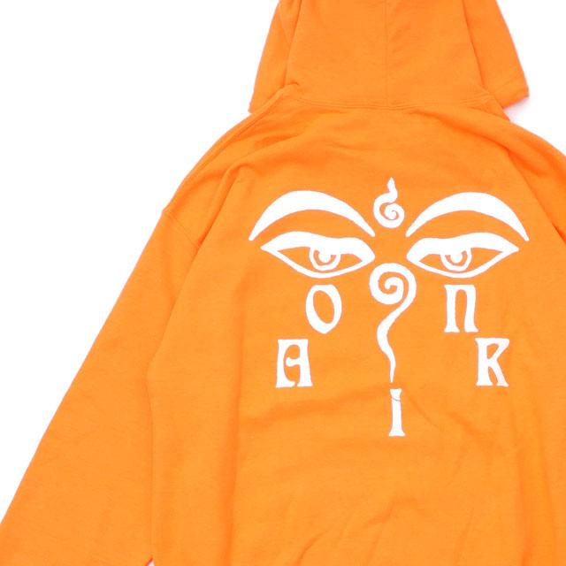オンエアー ON AIR Buddha Eyes Hoodie フーディー スウェット パーカー SAFETY ORANGE オレンジ メンズ 【新品】 211000603048 SWT/HOODY