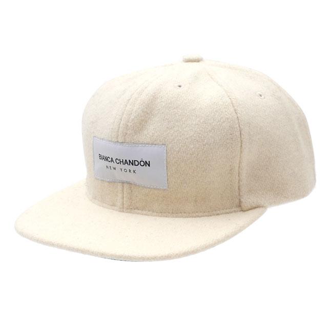 ビアンカシャンドン Bianca Chandon BCNY WOOL CAP キャップ WHITE ホワイト 白 メンズ 【新品】 420000265010 ヘッドウェア