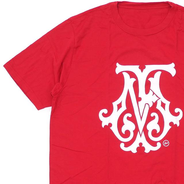 新品 ザ・コンビニ THE CONVENI x フラグメントデザイン Fragment Design FRGMTS FM TEE Tシャツ RED レッド 赤 メンズ 新作 200008159053 半袖Tシャツ