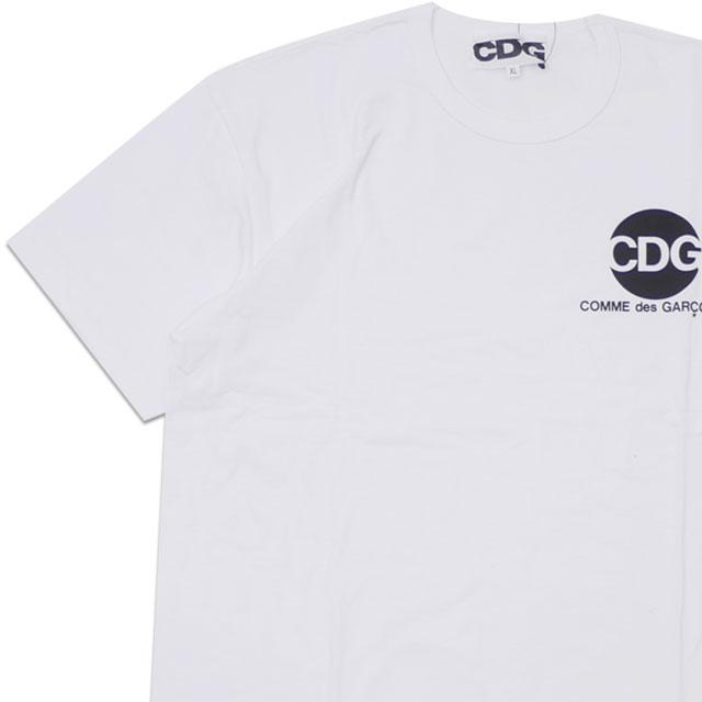 新品 コムデギャルソン CDG COMME des GARCONS CIRCLE TEE Tシャツ WHITE ホワイト 白 メンズ 新作 200008155060 半袖Tシャツ
