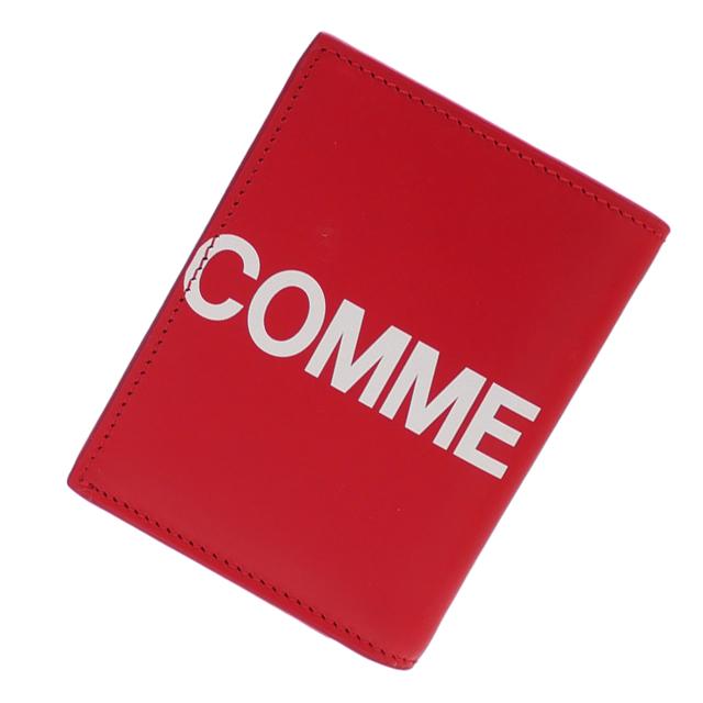 新品 コムデギャルソン COMME des GARCONS Huge Logo Card Case カードケース RED レッド メンズ レディース 新作 グッズ