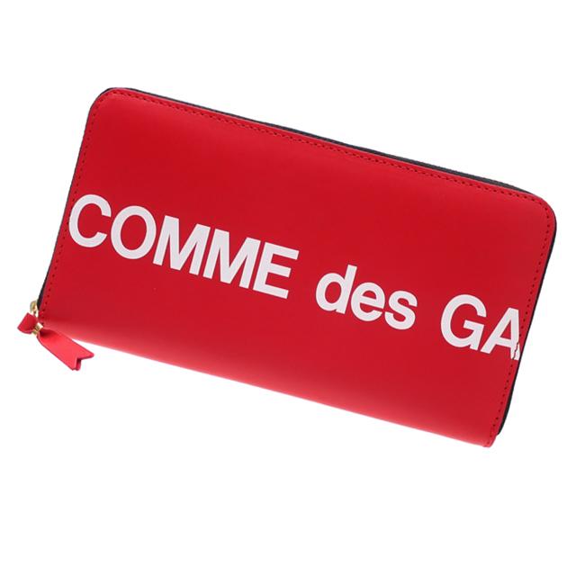 新品 コムデギャルソン COMME des GARCONS Huge Logo Long Wallet 長財布 RED レッド メンズ レディース 新作 グッズ