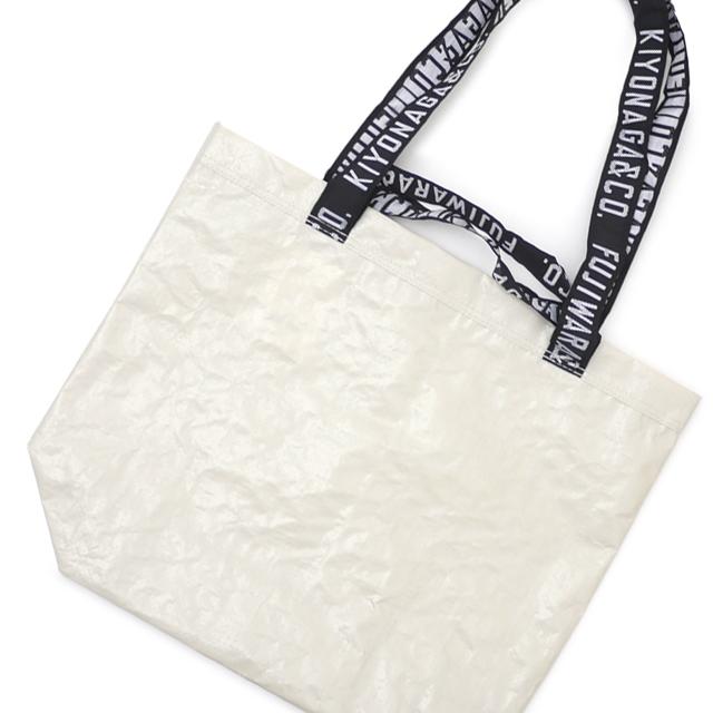 新品 ザ・コンビニ THE CONVENI KIYONAGA&CO. FUJIWARA&CO. SHOPING TOTE BAG ショッピング トート バッグ BEIGE ベージュ メンズ レディース 新作 グッズ