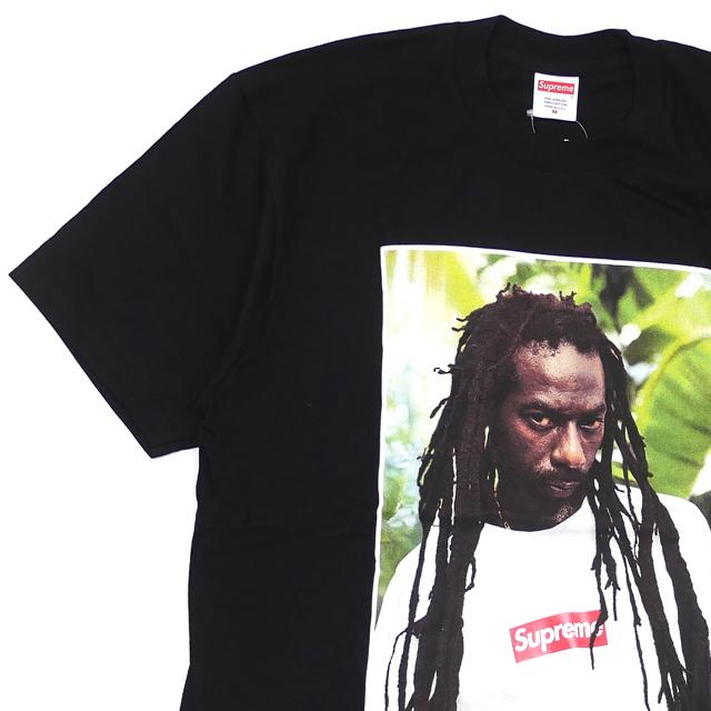 新品 シュプリーム SUPREME Buju Banton Tee ブジュ・バントン Tシャツ BLACK ブラック 黒 メンズ 新作 半袖Tシャツ