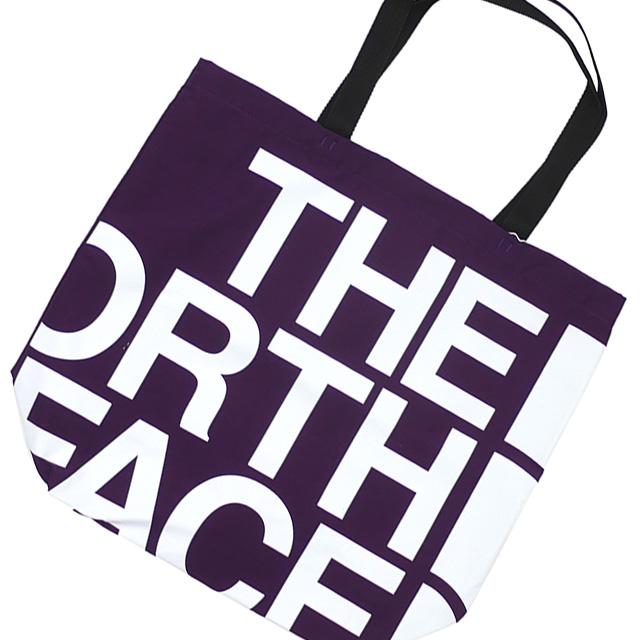 新品 ザ・ノースフェイス パープルレーベル THE NORTH FACE PURPLE LABEL Logo Print Tote トートバッグ PURPLE パープル 紫 新作 NN7954N グッズ