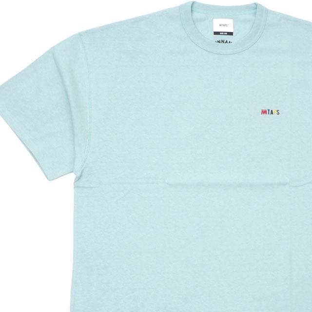 ダブルタップス WTAPS 100%安心保証 当店取扱い商品は全て本物 正規商品 新品 x ミンナノ min-nano FLAVA SS 02 W MINT TAPS 104-002966-075 ミント 104-002967-075 新作 Tシャツ TEE 半袖Tシャツ 推奨 191ATMID-CSM02S 激安通販 メンズ