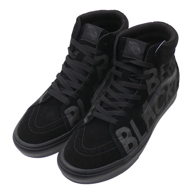 新品 コムデギャルソン COMME des GARCONS x バンズ VANS ブラックマーケット限定 BLACK MARKET Comfycush Sk8-Hi スケートハイ BLACK ブラック 黒 メンズ 新作 フットウェア