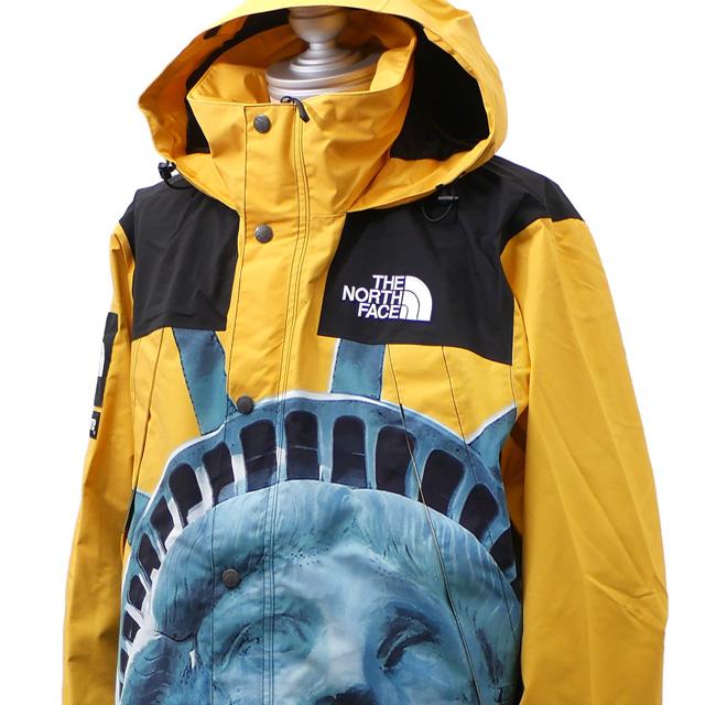 新品 シュプリーム SUPREME x ザ ノースフェイス THE NORTH FACE Statue of Liberty Mountain Jacket マウンテン ジャケット YELLOW イエロー メンズ 新作 OUTER