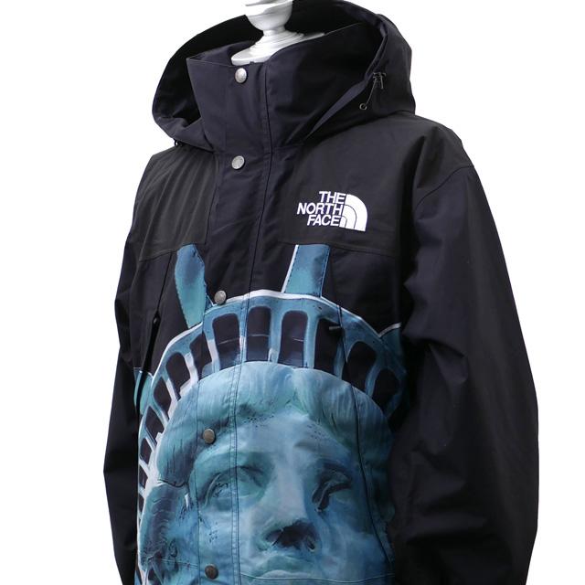 新品 シュプリーム SUPREME x ザ ノースフェイス THE NORTH FACE Statue of Liberty Mountain Jacket マウンテン ジャケット BLACK ブラック 黒 メンズ 新作 OUTER