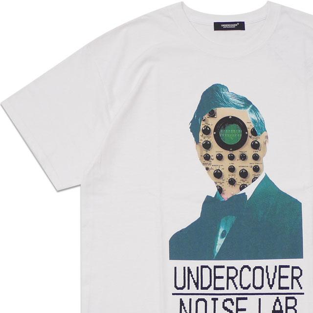 新品 アンダーカバー UNDERCOVER TEE UC NOISE LAB FACE Tシャツ WHITE ホワイト 白 メンズ 新作 半袖Tシャツ