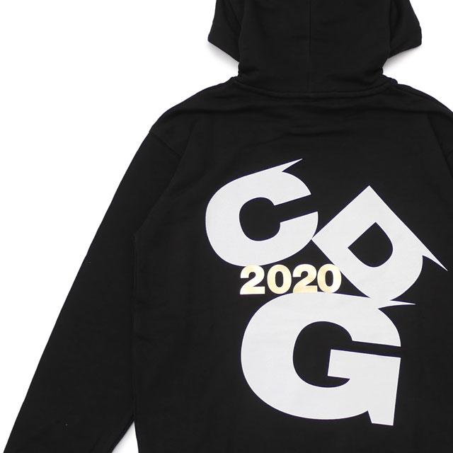 新品 コムデギャルソン CDG COMME des GARCONS 2020 LOGO Hoodie パーカー BLACK ブラック 黒 メンズ 新作 SWT/HOODY