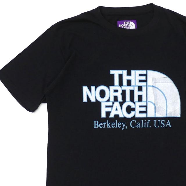 新品 ザ・ノースフェイス パープルレーベル THE NORTH FACE PURPLE LABEL H/S Logo Pocket Tee ポケット Tシャツ K BLACK ブラック NT3915N 半袖Tシャツ
