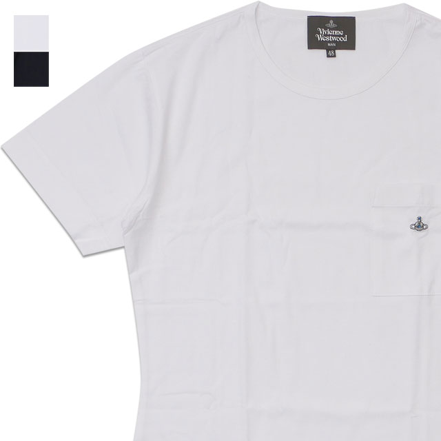 新品 ヴィヴィアン・ウエストウッド Vivienne Westwood ベーシック ポケット Tシャツ メンズ 新作 半袖Tシャツ