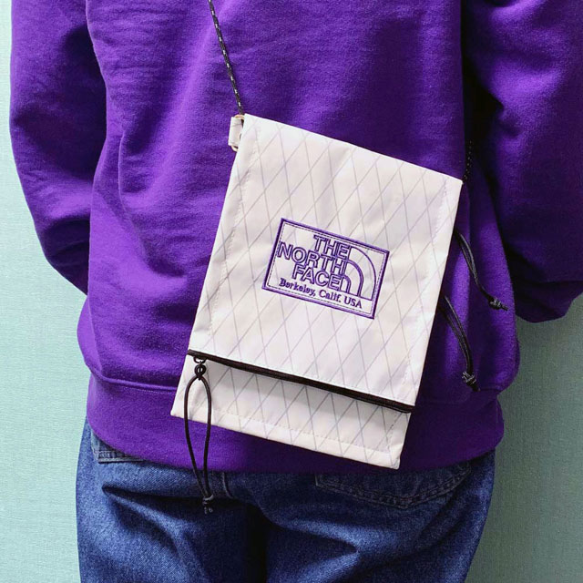 新品 ザ・ノースフェイス パープルレーベル THE NORTH FACE PURPLE LABEL X-Pac Utility Pocket Bag W(WHITE) 新作 NN7011N グッズ