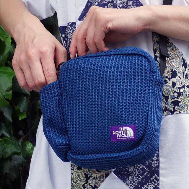 新品 ザ・ノースフェイス パープルレーベル THE NORTH FACE PURPLE LABEL Mesh Shoulder Bag ショルダー バッグ TB(TEAL BLUE) 新作 NN7012N グッズ