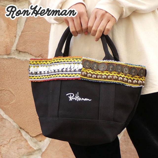 ロンハーマン Ron Herman 100%安心保証 当店取扱い商品は全て本物 正規商品 新品 国内1店舗限定 保証 Coin Tote 黒 ブラック Bag BLACK トートバッグ コイン レディース グッズ メンズ 定番の人気シリーズPOINT ポイント 入荷
