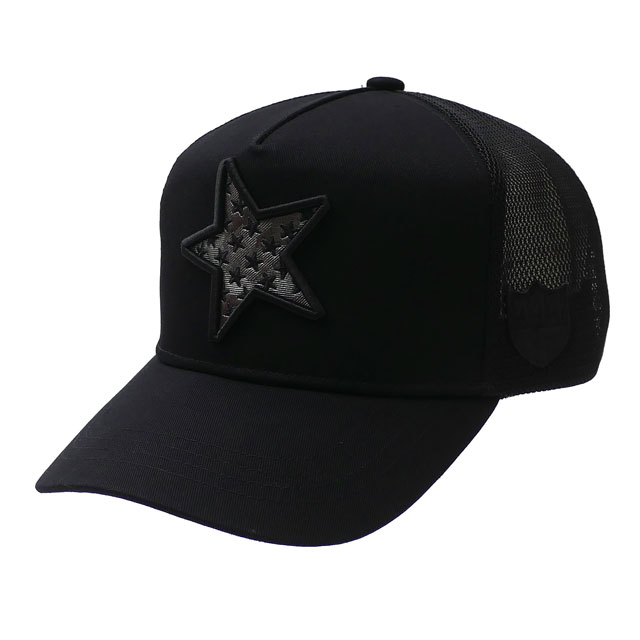 ヨシノリコタケ YOSHINORI KOTAKE 100%安心保証 当店取扱い商品は全て本物 正規商品 新品 人気 x バーニーズ 新品未使用正規品 ニューヨーク BARNEYS NEWYORK 黒 METAL MESH メンズ ヘッドウェア 新作 ブラック CAP LOGO STAR キャップ BLACK