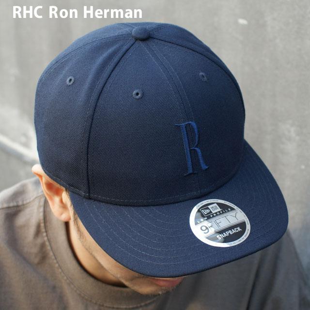 ロンハーマン Ron 2020春夏新作 Herman 100%安心保証 当店取扱い商品は全て本物 正規商品 販売数激少 新品 RHC x お求めやすく価格改定 ニューエラ NEW ERA メンズ NAVY 9FIFTY レディース CAP R ヘッドウェア 新作 39ショップ 紺 キャップ ネイビー