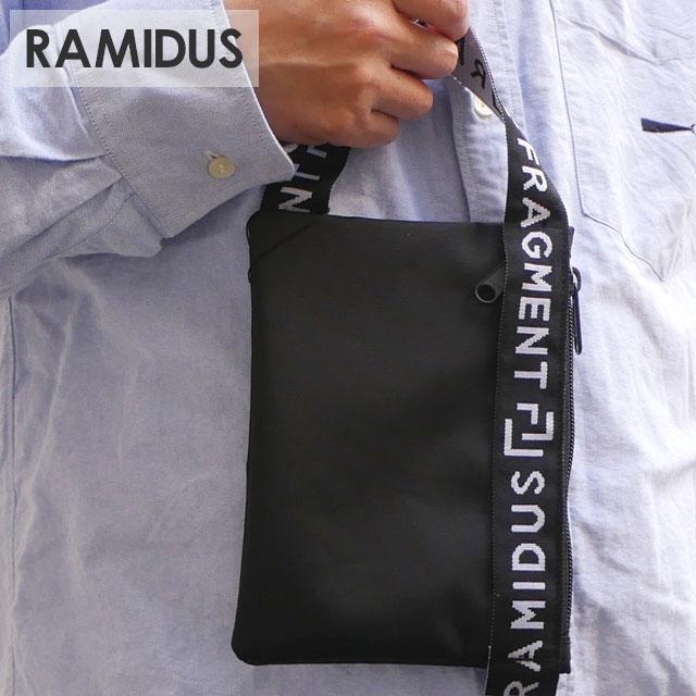ラミダス RAMIDUS 100%安心保証 当店取扱い商品は全て本物 正規商品 新品 在庫一掃 x フラグメントデザイン Fragment Design POUCH BLACK クラッチバッグ 黒 ブラック ポーチ グッズ 新作 メンズ 信頼 39ショップ レディース