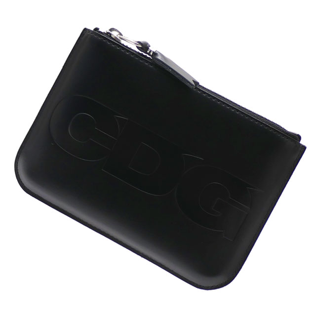 CDG シーディージー ZIP COIN CASE コインケース BLACK 272000171011+【新品】 COMME des GARCONS コムデギャルソン  グッズ