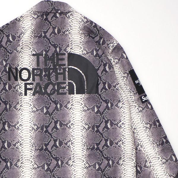 新古品/未使用 シュプリーム Supreme x THE NORTH FACE ザ・ノースフェイス 18SS Snakeskin Taped Seam Coaches Jacket コーチ ジャケット BLACK メンズ Mサイズ 2018SS 130003052041 (OUTER)