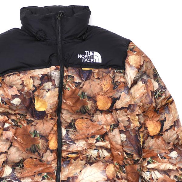 シュプリーム Supreme x ザノースフェイス THE NORTH FACE 16FW Nuptse Jacket ヌプシ ダウン ジャケット LEAVES メンズ Mサイズ 【新古品/未使用】 2016FW 130003019049 (OUTER)