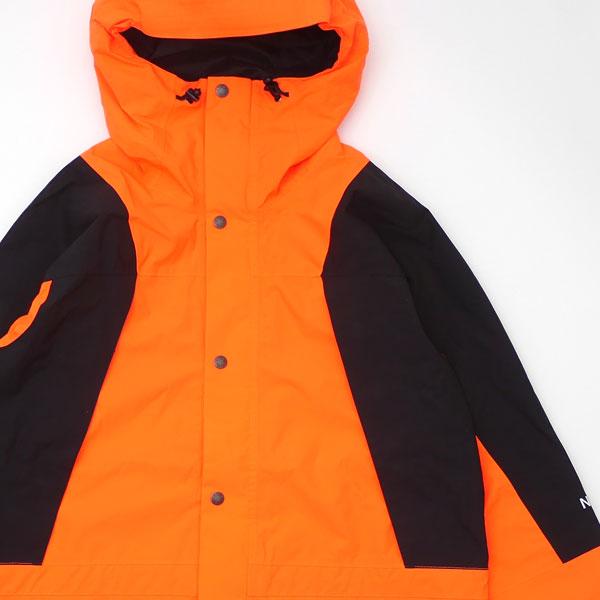 シュプリーム Supreme x THE NORTH FACE ザ・ノースフェイス 16FW Mountain Light Jacket マウンテン パーカ ジャケット POWER ORANGE オレンジ メンズ Mサイズ 【中古】 2016FW 130002955999 (OUTER)