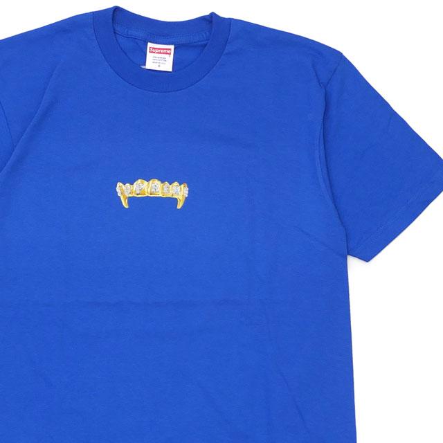 新古品/未使用 シュプリーム Supreme 19SS Fronts Tee Tシャツ ROYAL ロイヤル メンズ Sサイズ 2019SS 104002836034 (半袖Tシャツ)