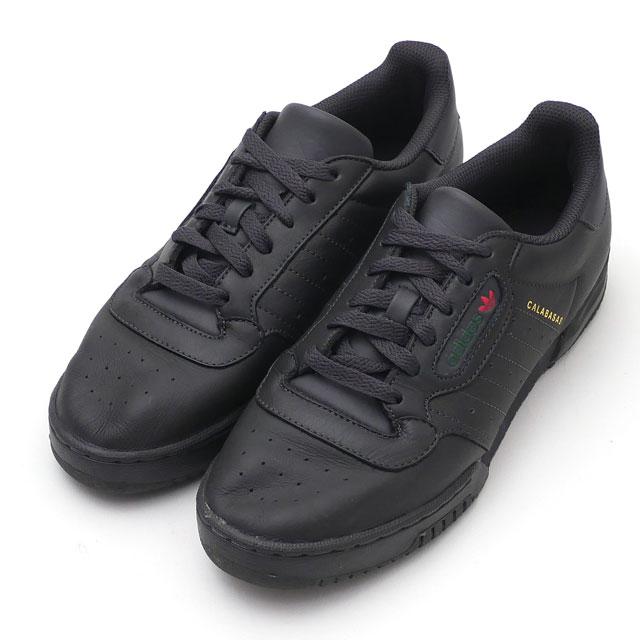 アディダス adidas YEEZY POWERPHASE イージー パワーフェーズ CG6420 BLACK メンズ 26.0cm 191013234262 【中古】 (フットウェア)