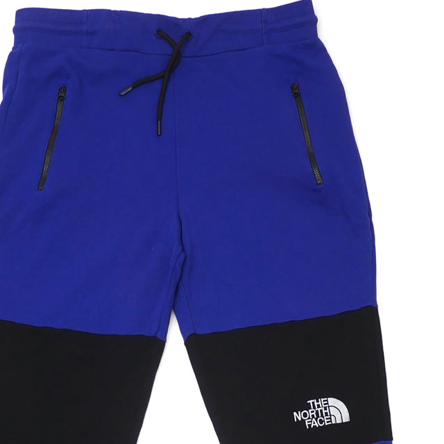 ザ・ノースフェイス THE NORTH FACE HIMALAYAN PANTS スウェット パンツ BLUE ブルー メンズ Lサイズ 【中古】 143000263054 (パンツ)