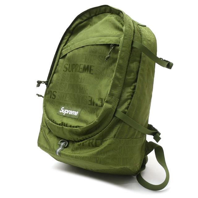 シュプリーム SUPREME 19SS BACK PACK バックパック OLIVE オリーブ メンズ FREEサイズ 【中古】 2019SS 176000388015 (グッズ)