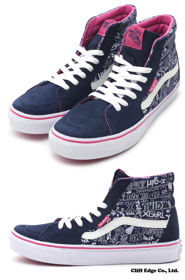 deb02afd55 x girl vans sk8 hi   Come and stroll!